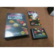 Side Pocket (Sega Genesis, 1992)  Complete in Box - CIB
