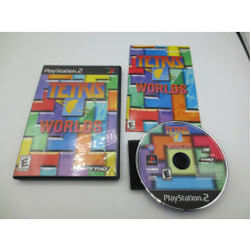 Tetris Worlds (Sony PlayStation 2, 2002)  Complete in Box - CIB