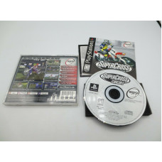 SuperCross Circuit (Sony PlayStation 1, 1999)   Complete in Box - CIB