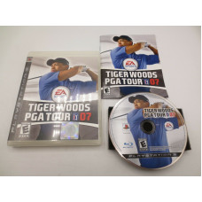 Tiger Woods PGA Tour 07 (Sony PlayStation 3, 2006)   Complete in Box - CIB