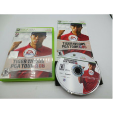 Tiger Woods PGA Tour 06 (Microsoft Xbox 360, 2006) - Complete in Box - CIB
