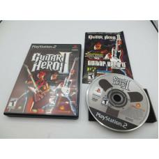Guitar Hero II (Sony PlayStation 2, 2006)   Complete in Box - CIB