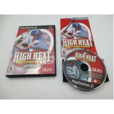 High Heat Major League Baseball 2002 (Sony PlayStation 2, 2001)  Complete in Box