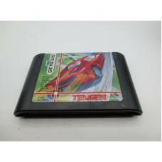 Hard Drivin' (Sega Genesis, 1991)