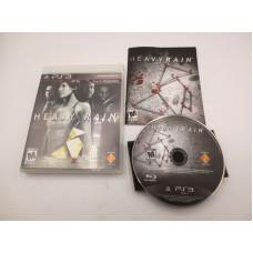 Heavy Rain (Sony PlayStation 3, 2010)  Complete in Box - CIB